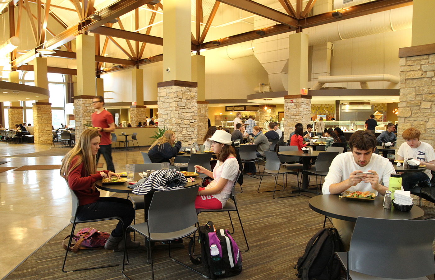 Dining in The Gerber Center