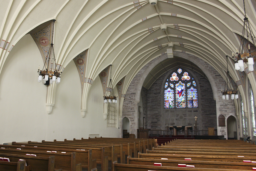 Ascension Chapel interior