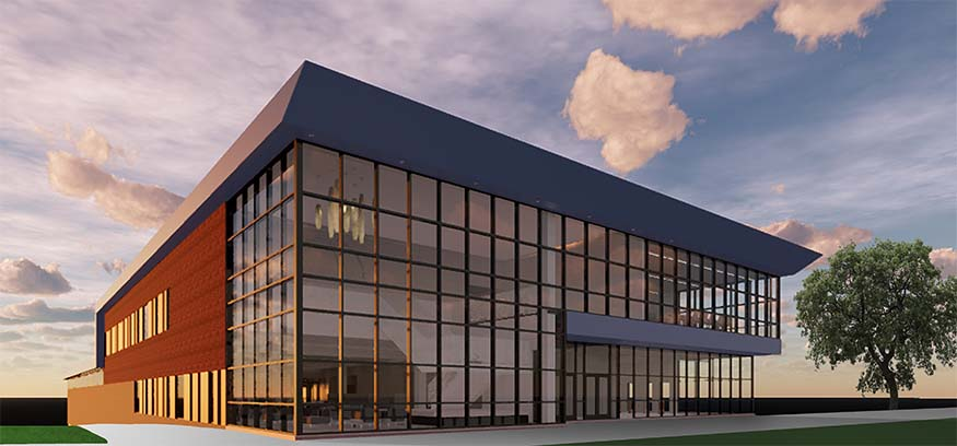knowlton center rendering