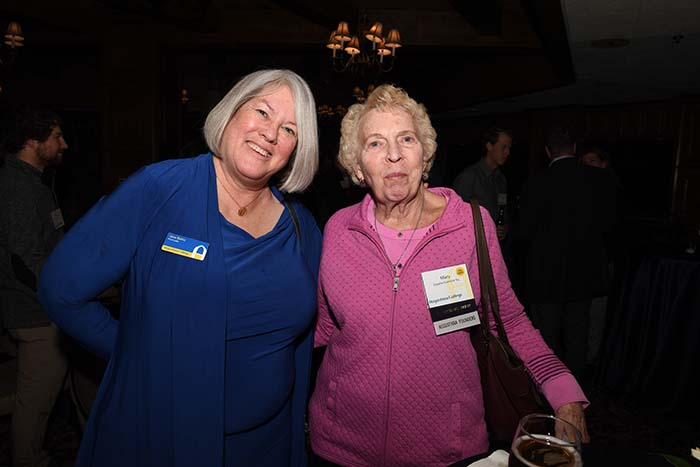 Jane Easter Bahls and Mary Espelie '64 Kvamme in Denver