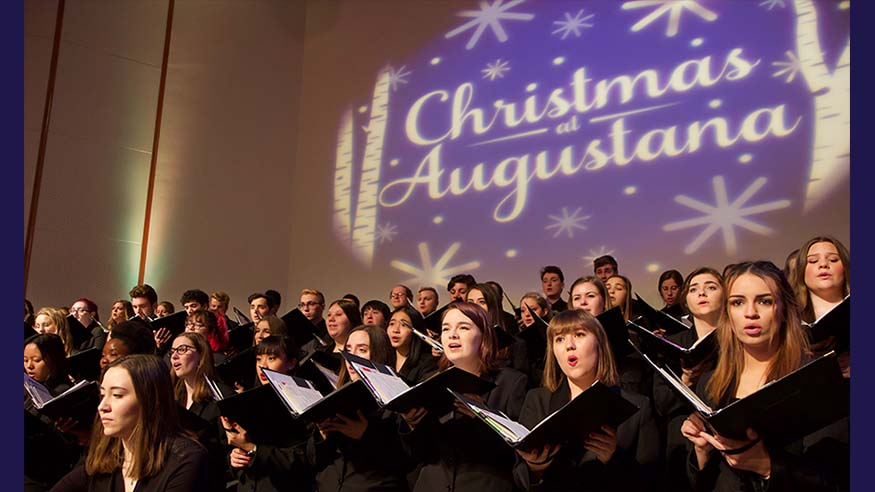 christmas at augustana singers