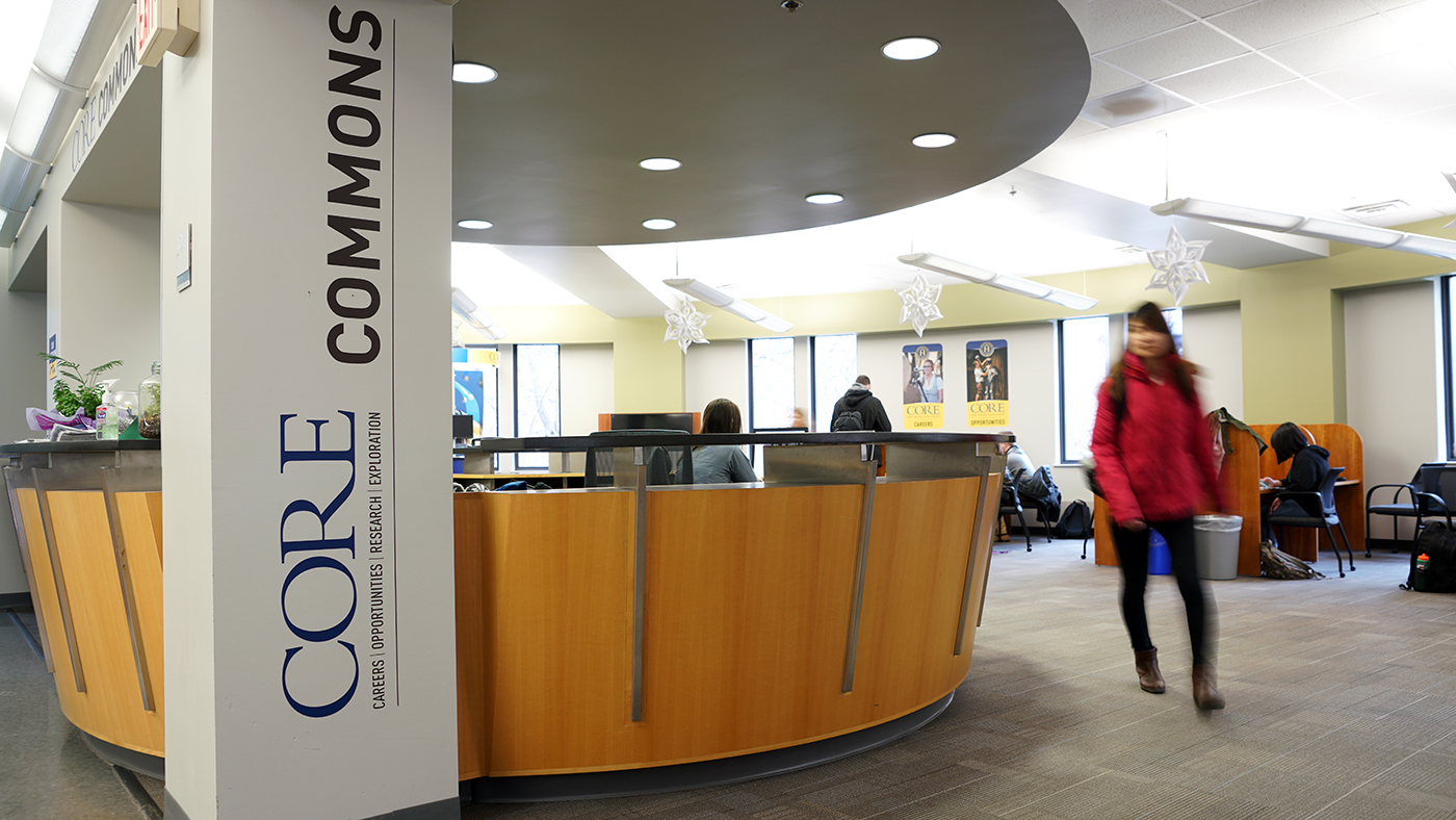 CORE Commons in the Olin Center