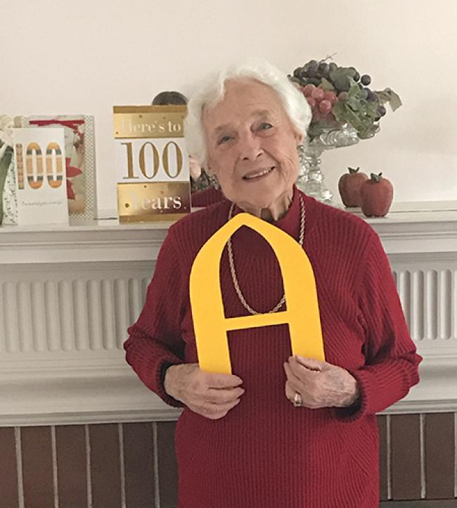 Ruth Robinson Hanna at 100