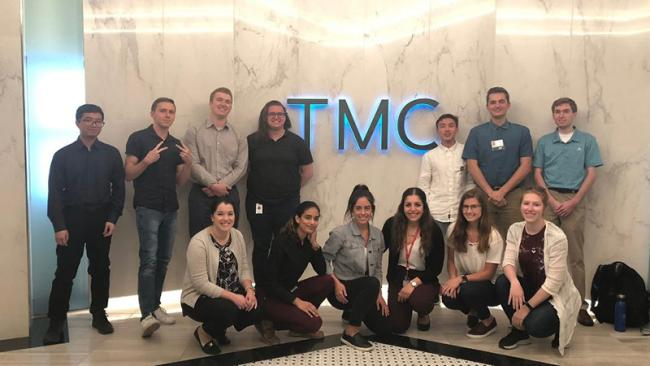 2019 Texas Medical Center interns form Augustana