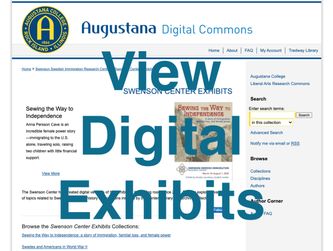 View digital exhibits