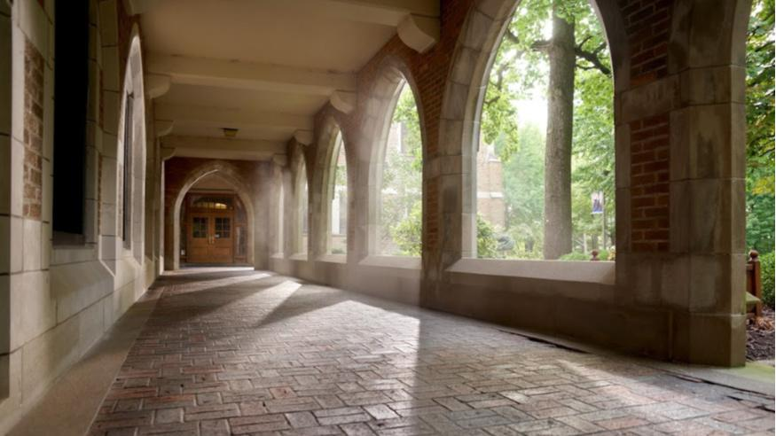 founders hall arches