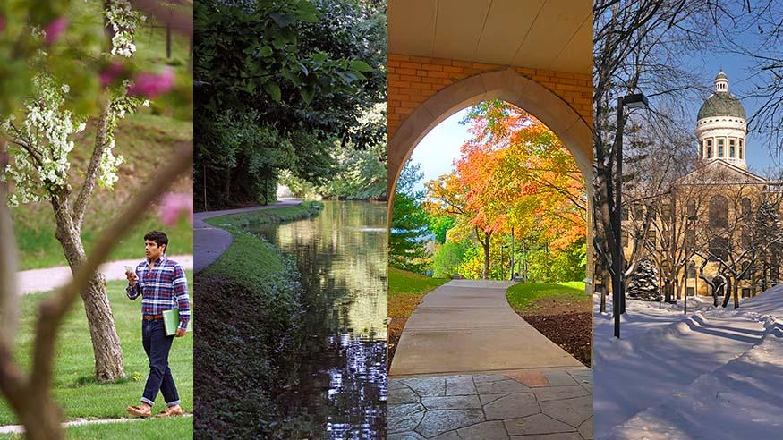 seasons on campus